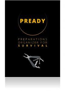 PREADY PREPARATIONS ORGANIZER FOR SURVIVAL